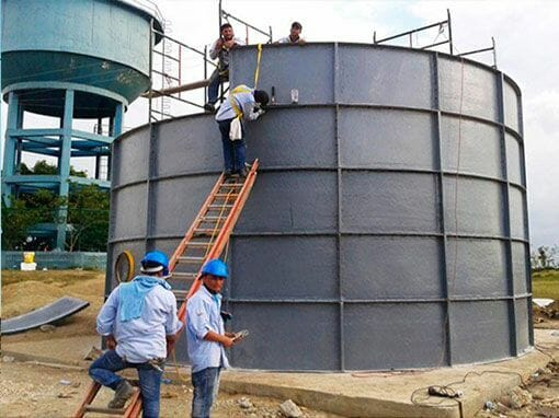 Tanque para agua modular