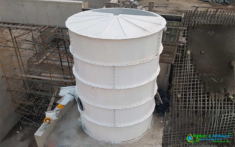 Tanque de almacenamiento modular de agua