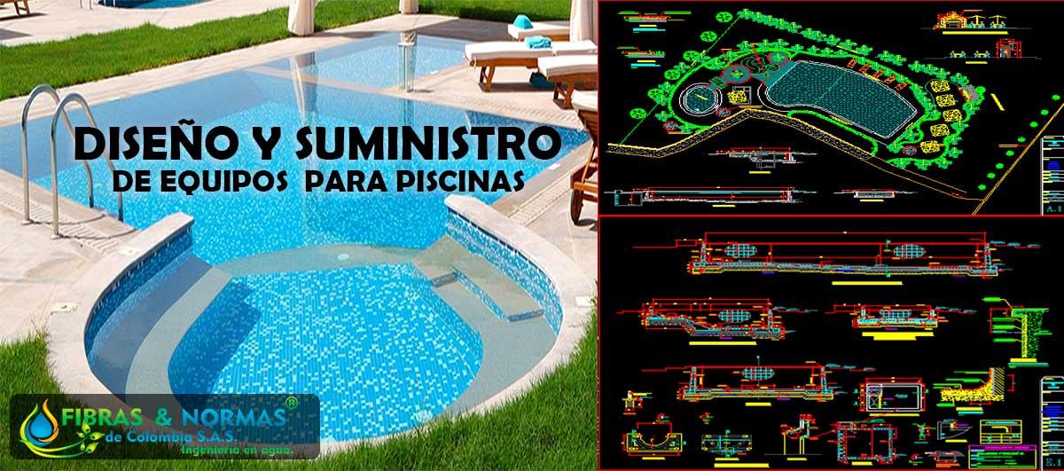 Diseño y suministro para piscinas